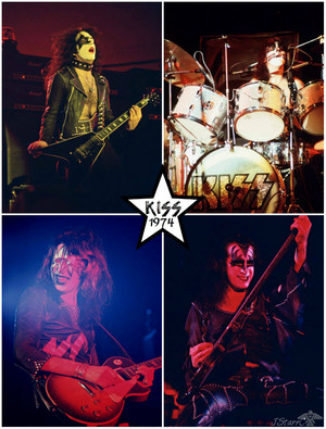 吻乐队(Kiss) ~Chicago, Illinois…April 19, 1974 (KISS tour)