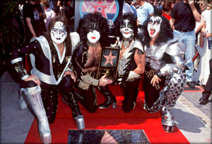 Kiss ~Hollywood, California…August 11, 1999 (Hollywood Walk of Fame)