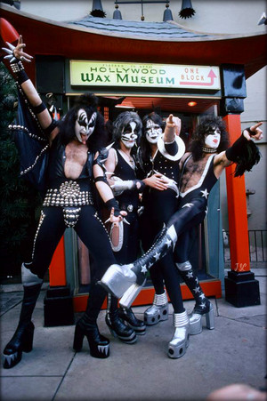 KISS ~Hollywood, California...February 24,1976 Graumans Chinese Theater