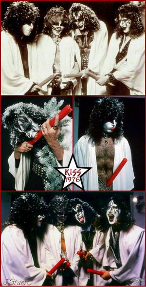 KISS ~Hollywood, California...October 19, 1976 Creem Magazine