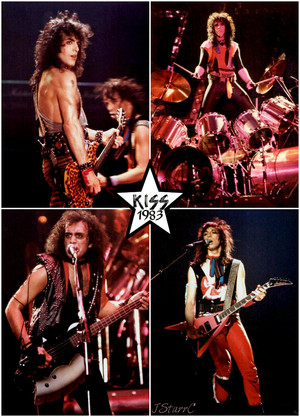 baciare ~London, England…October 23, 1983 (Lick It Up World tour)