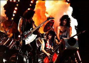 KISS ~Paris, France...October 31, 1983 Lick It Up tour