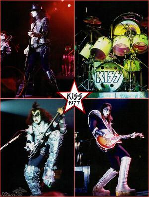 KISS ~Tulsa, Oklahoma…January 6, 1977 (Rock And Roll Over tour)