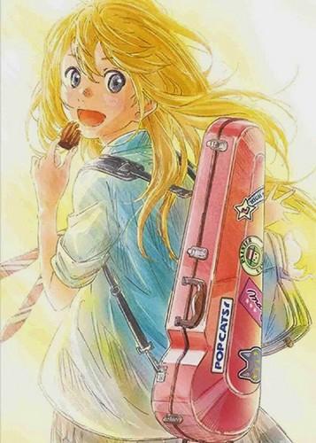 Shigatsu wa Kimi no Uso fondo de pantalla titled Kaori <333