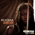 the-walking-dead - Katana Queen wallpaper