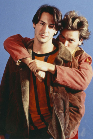 Keanu Reeves and River Phoenix - My Own Private Idaho Promos