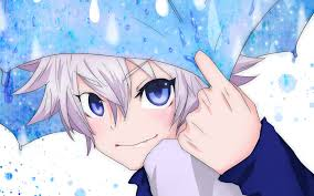 Hunter x Hunter karatasi la kupamba ukuta probably containing anime called Killua6