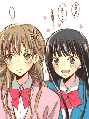 Kurumi and Sawako // Kimi ni Todoke