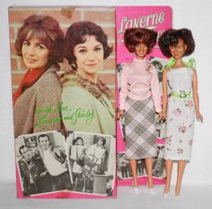 Laverne & Shirley Dolls