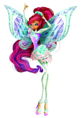 o clube das winx wallpaper probably containing a rose titled Layla 3D Tynix