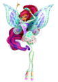 Layla 3D Tynix - the-winx-club fan art