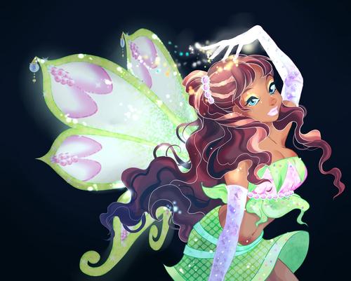 El Club Winx fondo de pantalla entitled Layla Enchantix