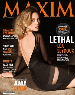 Lea Seydoux - Maxim India Cover - 2015