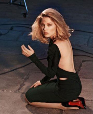 Lea Seydoux - Maxim India Photoshoot - 2015