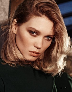Lea Seydoux - Maxim India Photoshoot - 2015
