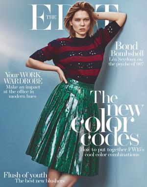 Lea Seydoux - The éditer Cover - 2015