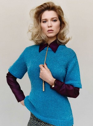 Lea Seydoux - Vanity Fair France Photoshoot - 2015