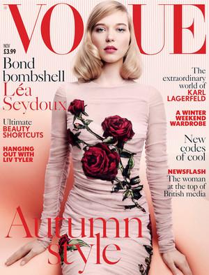Lea Seydoux - Vogue UK Cover - 2015