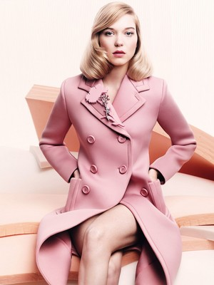 Lea Seydoux - Vogue UK Photoshoot - 2015