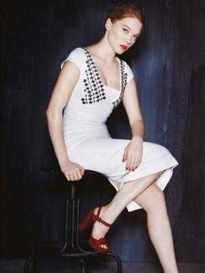 Lea Seydoux - toi Magazine Photoshoot - 2015