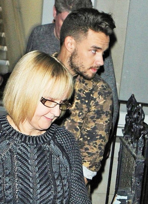Liam leaving the London Edition hotel