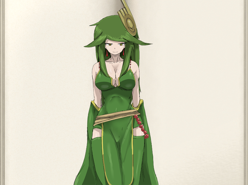 Monster Girl Quest wolpeyper entitled Lily Human Form