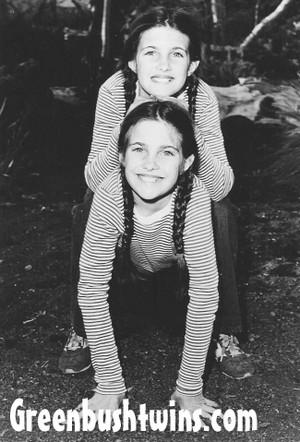"Lindsay and Sidney ""Carrie"" Greenbush (circa 1981)"