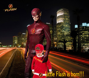Little Flash is born