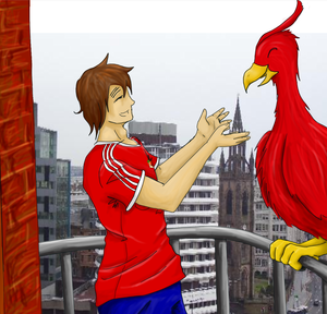 Liverpool And Liver Bird