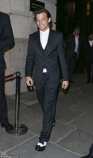 Louis All Dressed Up.