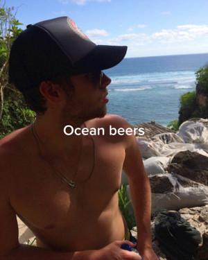 Luke in Bali