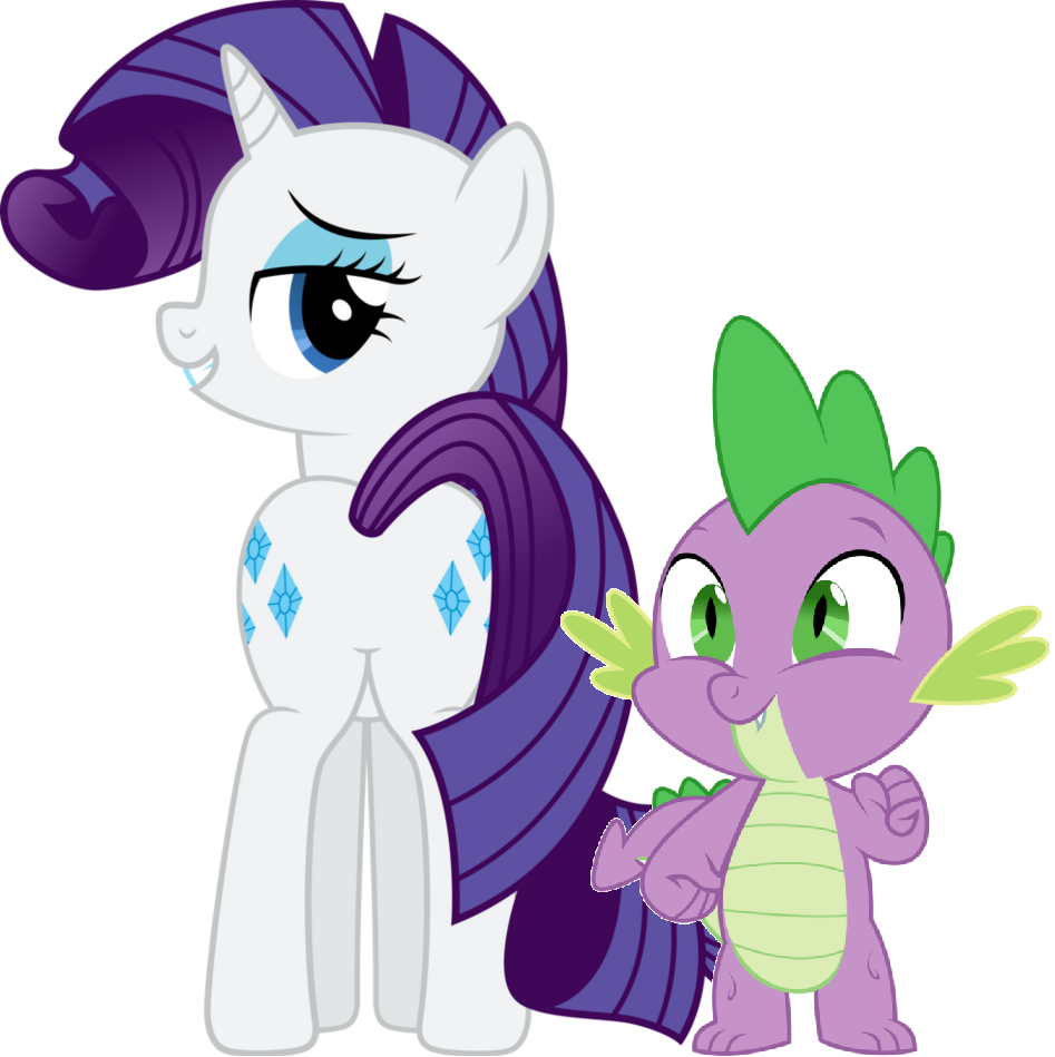 MLP Fanart Rarity and Spike - My Little Pony Friendship is ...