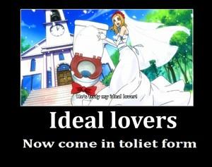 Marie x Toilet