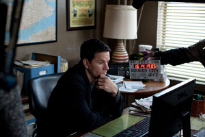 Mark Wahlberg as Billy Taggart in Broken City
