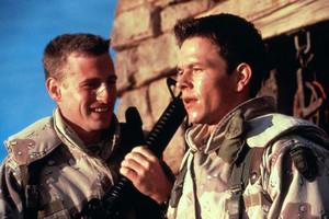 Mark Wahlberg as Troy Barlow in Three Kings