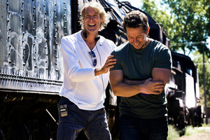 Mark Walhberg as Cade Yeager in Transformers: Age of Extinction