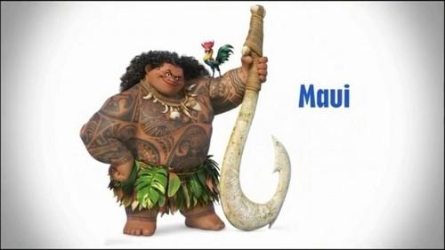 Disney's Moana Обои entitled Maui