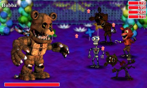 Five Nights at Freddy's achtergrond containing anime called Meet Bubba