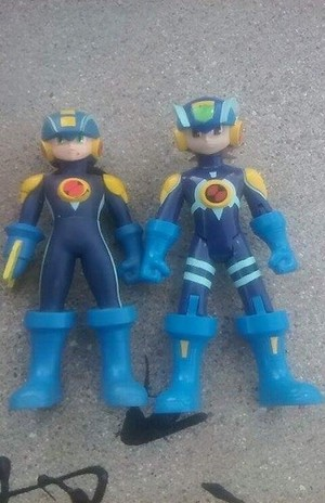 Megaman NT Warrior action figure