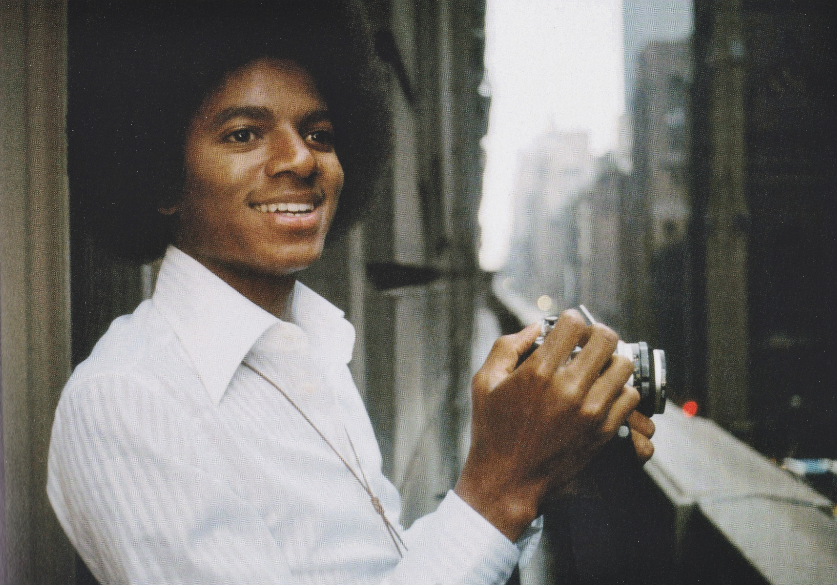 Michael Jackson - HQ Scan - Michael in NYC (1977)