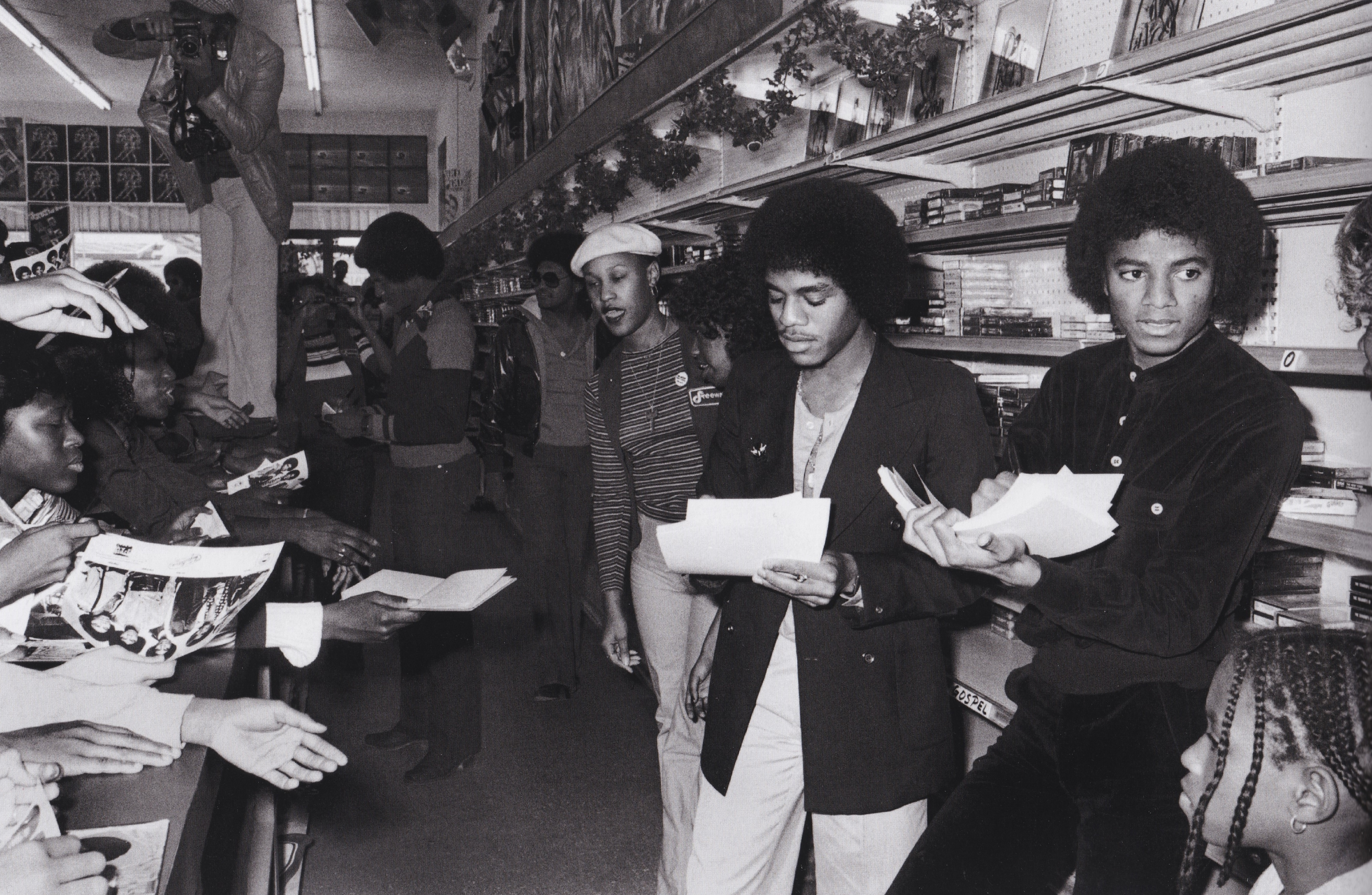 Michael Jackson - HQ Scan - The Jacksons' In-Store Album Promotion (1978)