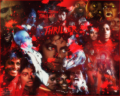 Michael Jackson wallpaper probably with anime entitled Michael Jackson Thriller 52161