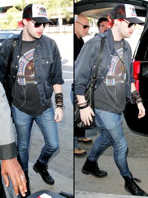 Michael at LAX
