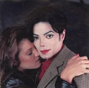 Michael with Lisa