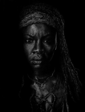 Michonne Graphite Portrait