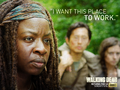 the-walking-dead - Michonne wallpaper