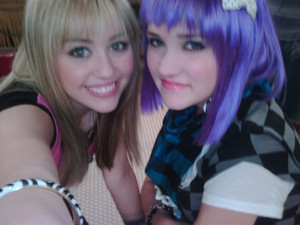 Miley and Lily