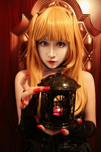 death note wallpaper titled Misa Amane - Cosplay