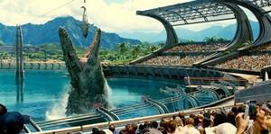 Mosasaurus Feeding mostrar