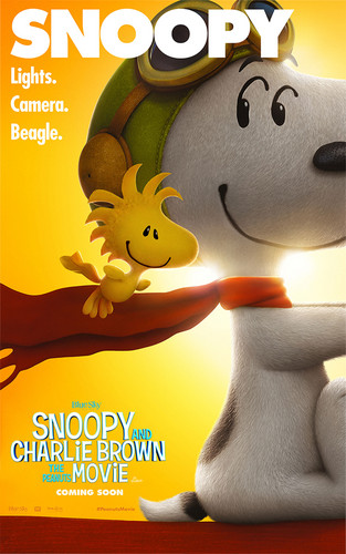 Peanuts wallpaper possibly containing anime entitled Movie Poster: Snoopy